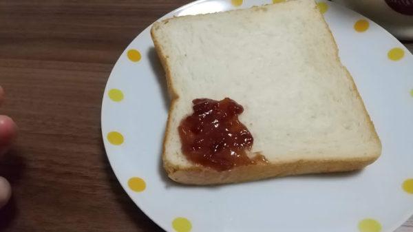 朝食 トースト